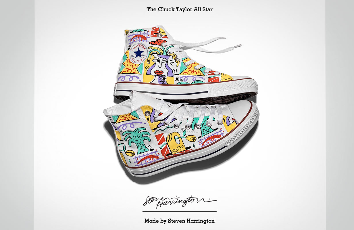 Converse's ' Made By You' campaign considers shoe as canvas,positioning the brand as an ally to a range of designers and artists.