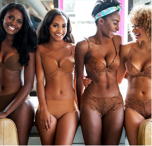 """""""Nude is the colour of your skin. There isn't one nude for all"""" is what differentiates Ade Hassan's lingerie range Nubian Skin in a crowded lingerie market."""