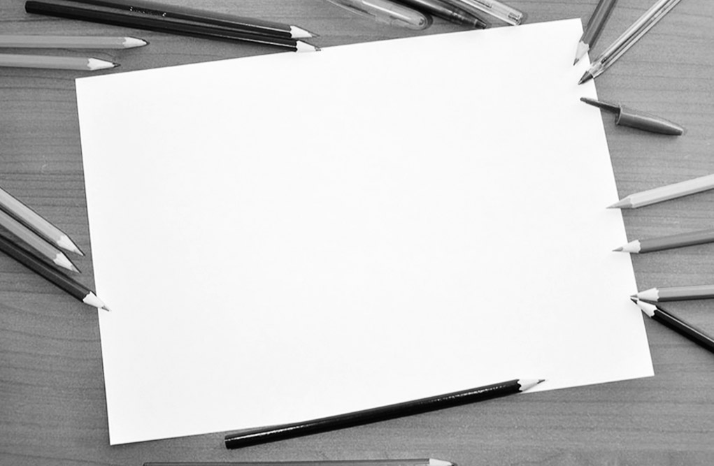 'Blank Sheet Branding' requires great courage — to overcome the phobia of staring at a blank page.