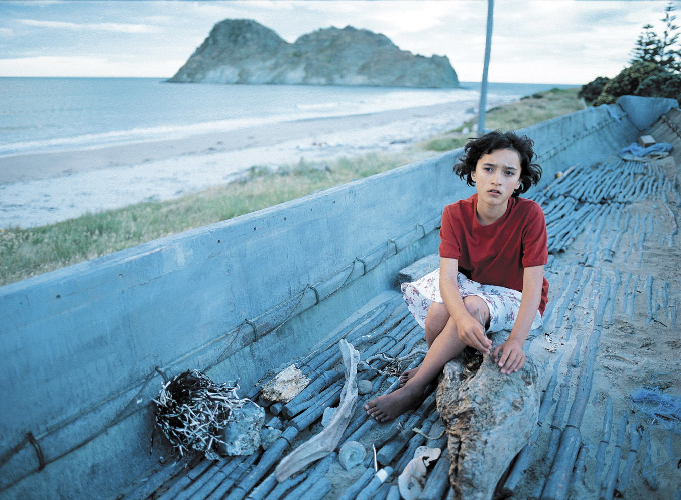 Still from Niki Caro's  Whale Rider  by Witi Ihimaera