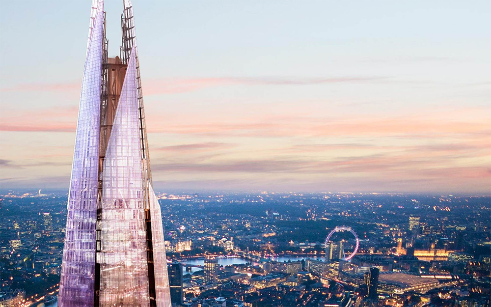 The Shard London by Renzo Piano