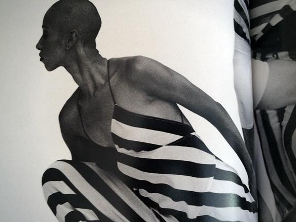 Odile Reine-Adelaide of  Bill T. Jones/Arnie Zane Dance Company  /   Annie Leibovitz