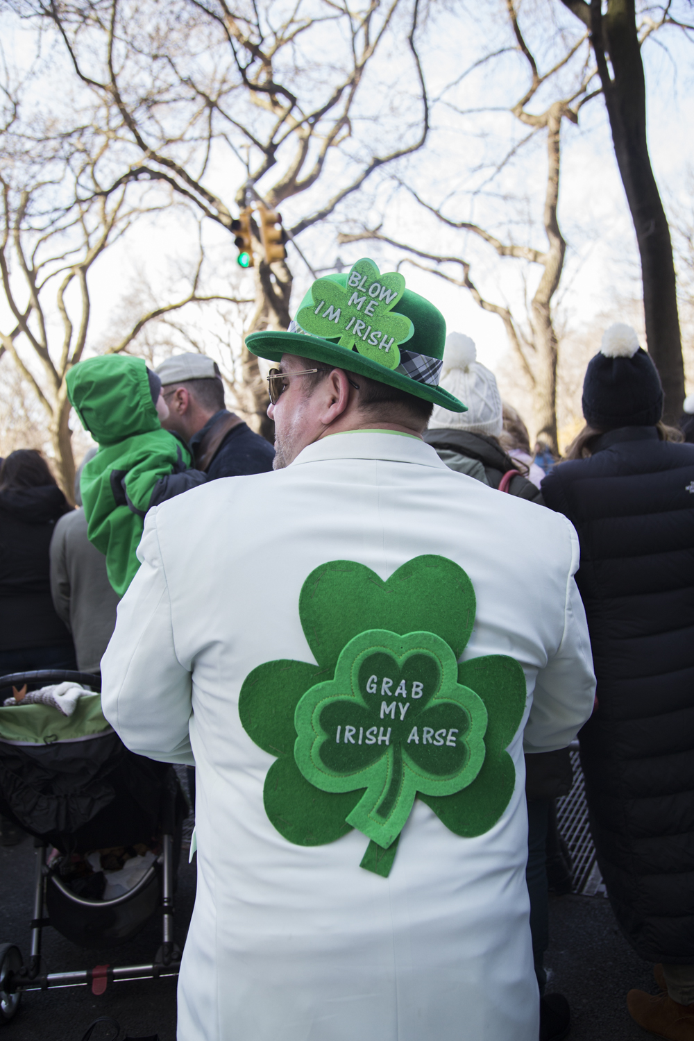 Scenes from the 2018 St. Patrick's Day Parade in Manhattan. (Staten Island Advance/Shira Stoll)