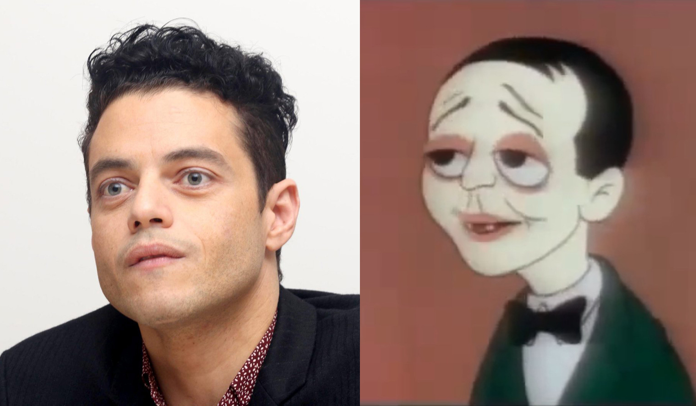 Apparently the great Rami Malek reminds Kenny of the Loony Tunes version of the great Peter Lorre.