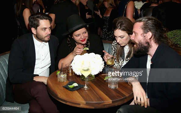 DJ Ana Calderon & Friends Attend Audi Emmy Party 2016