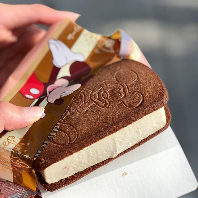 Tiramisu icecream #tokyodisneysea #tokyodisneyland