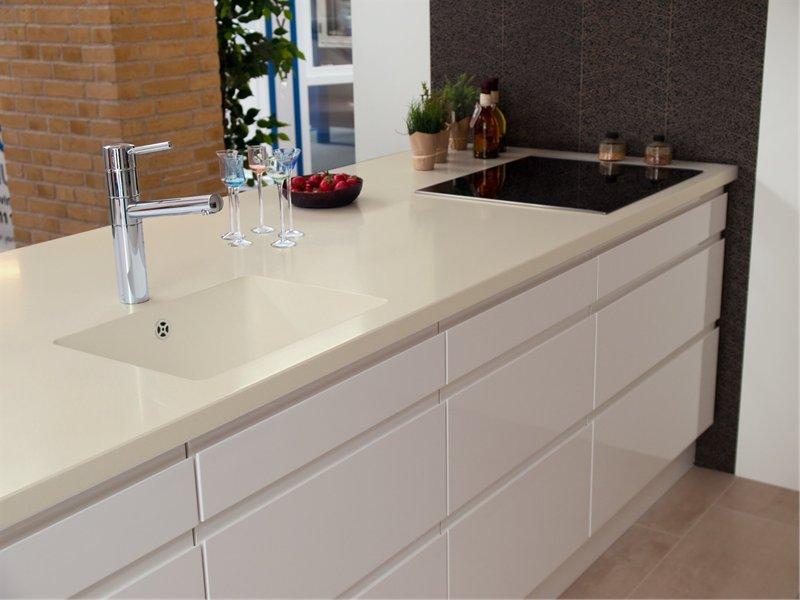 with integral kitchen sink