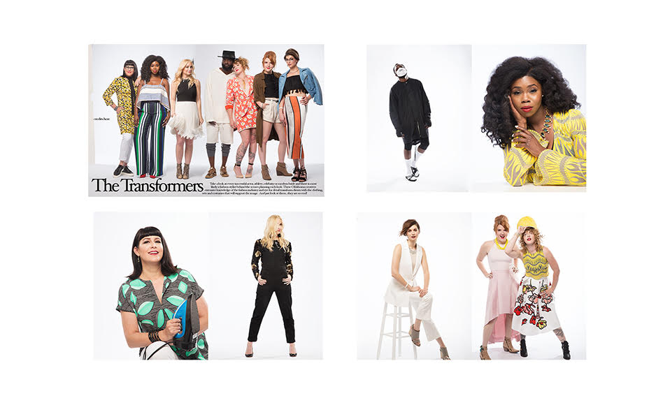 You might recognize the pants from Splurge magazine, June 2016 issue. Honored to be featured with some of Oklahoma's elite wardrobe and fashion stylists.  Read the full article  here .