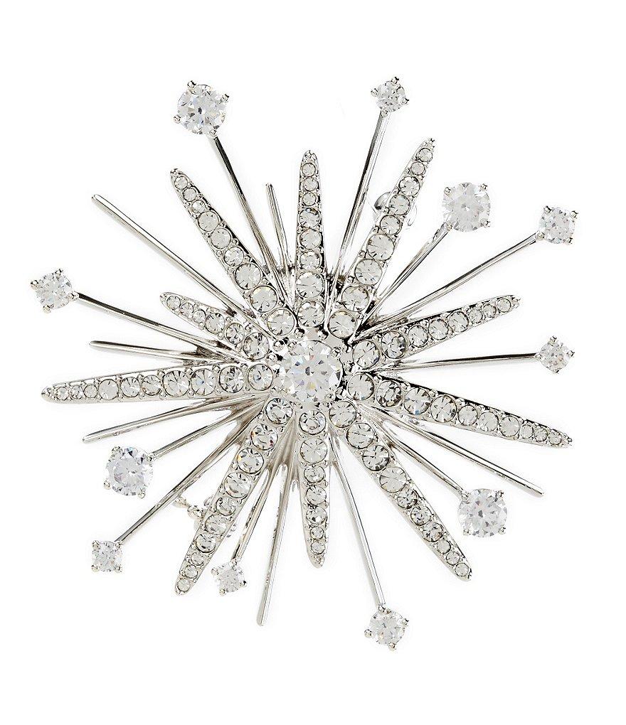 Dillard's Nadri Jolly Cubic Zirconia Starburst Pin