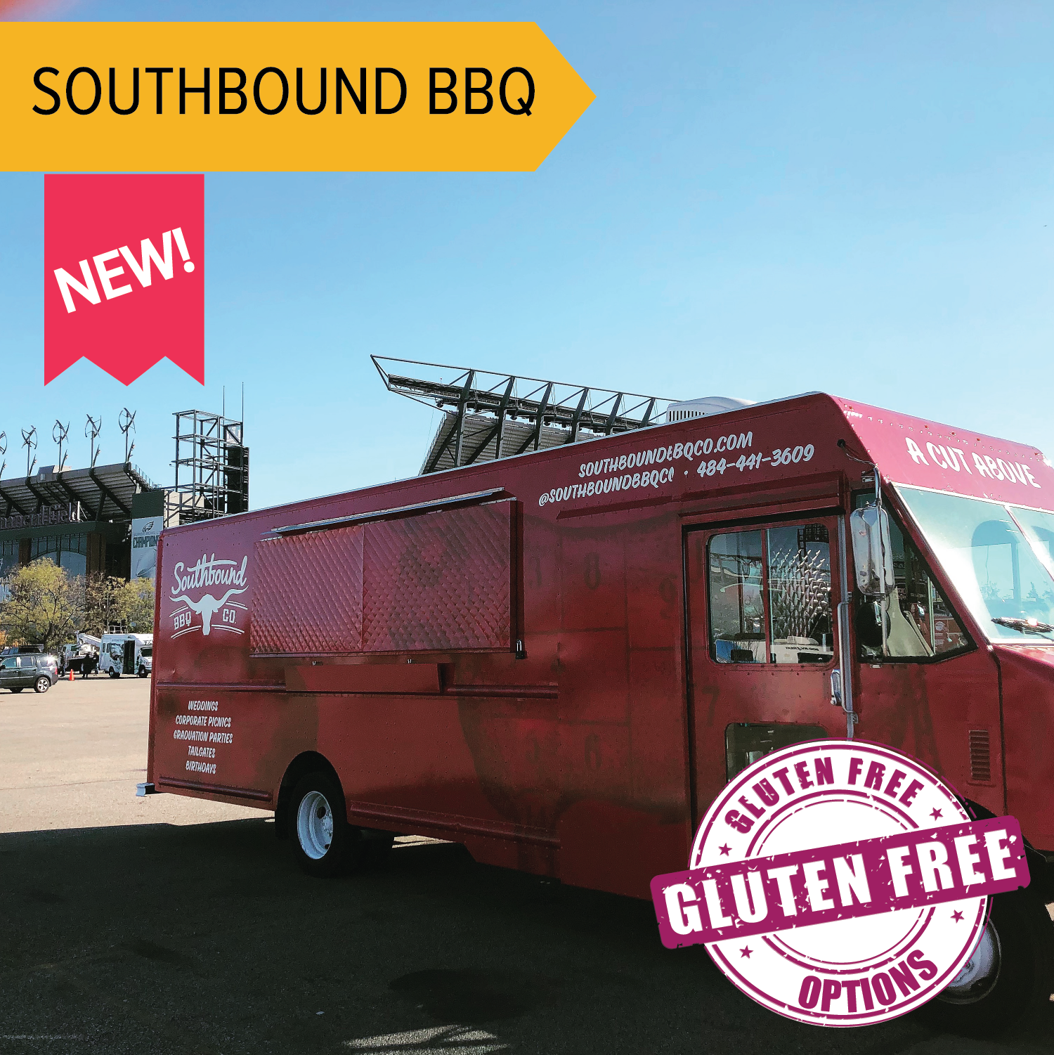 Southbound BBQ   Authentic southern barbecue served fresh, from pit to plate - Carolina style BBQ with sides