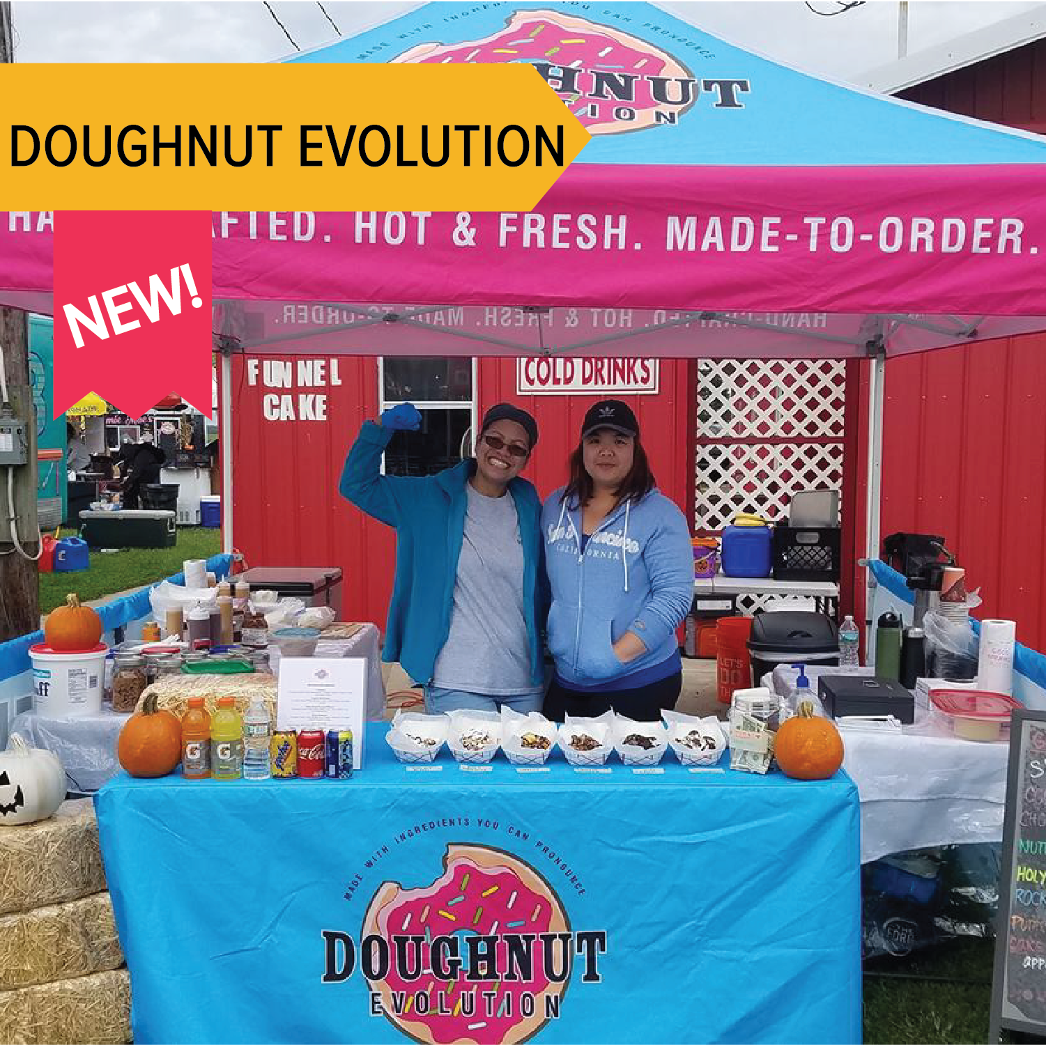 Doughnut Evolution   Fresh and made to order dipped donuts!