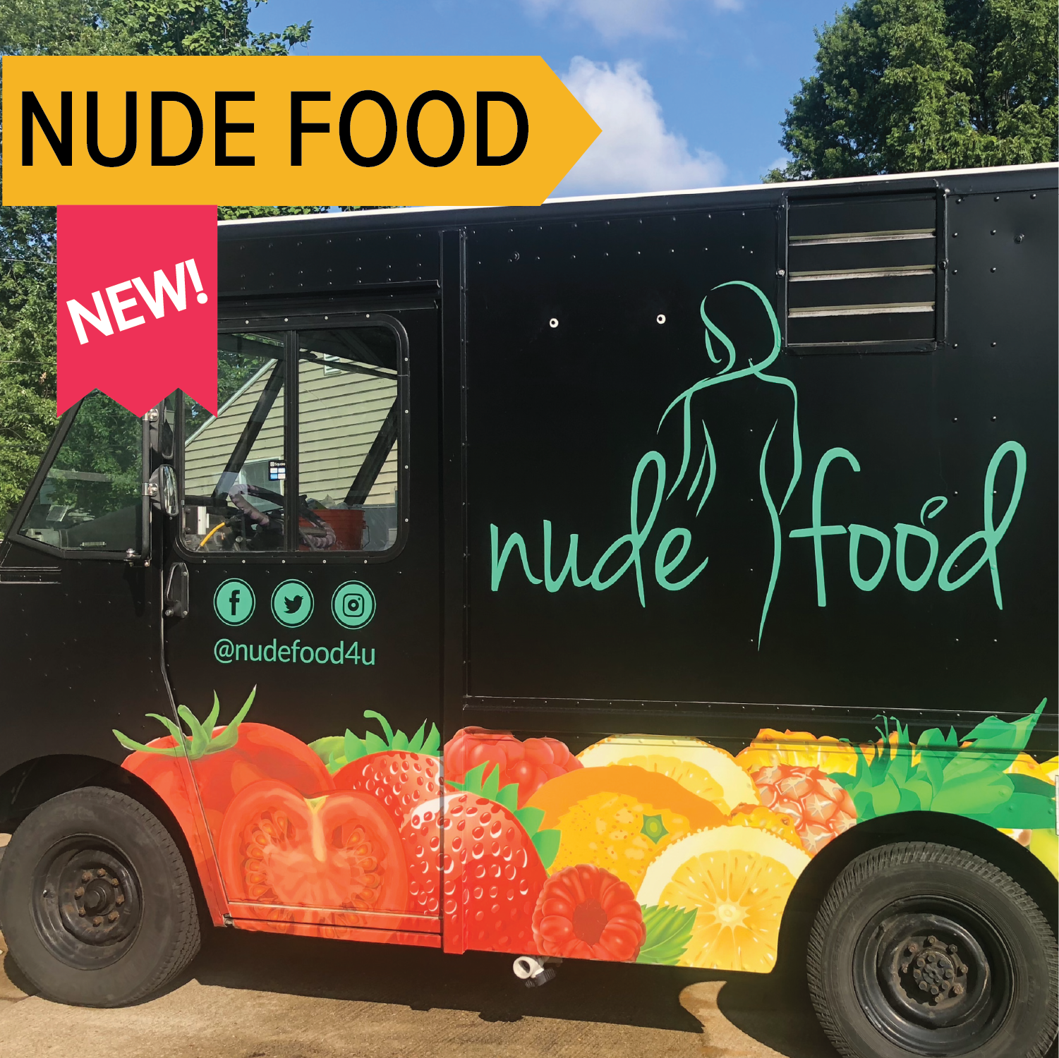 Nude Food   A completely vegan truck! Find a new favorite!