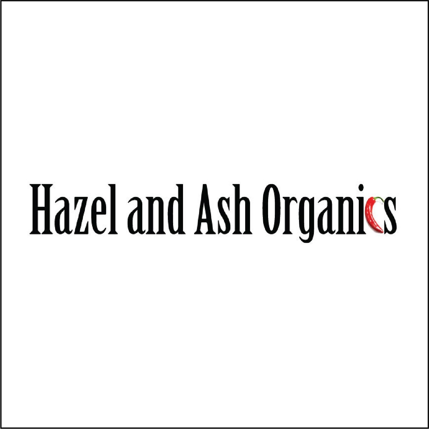 Hazel & Ash Organics   Gourmet hot sauces, salsas and other fresh sauces!