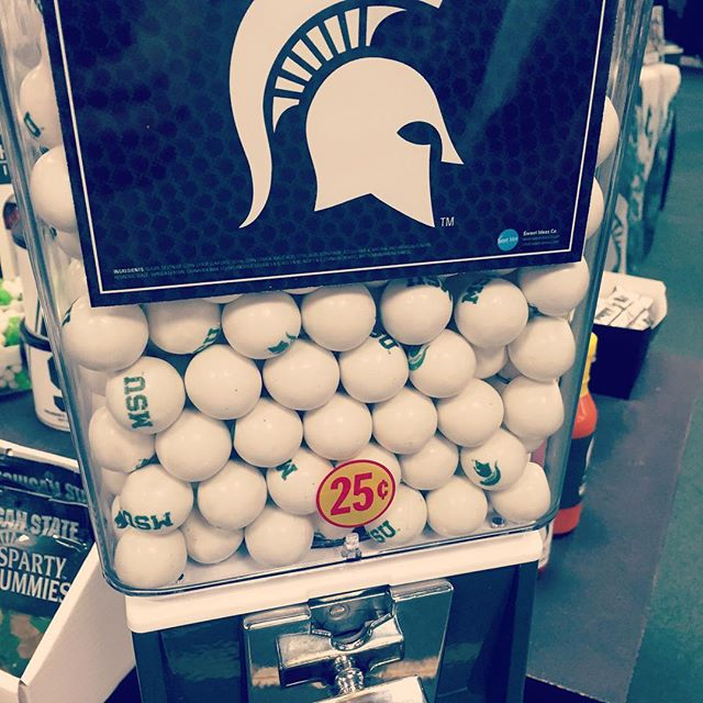 Who is ready to have a BALL this weekend? #gogreengowhite #spartyon #msu #spartans