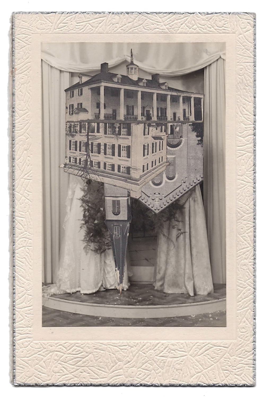 Wedding 12, 2016, Found Photographs & Collage, 7 x 4 1/2 inches