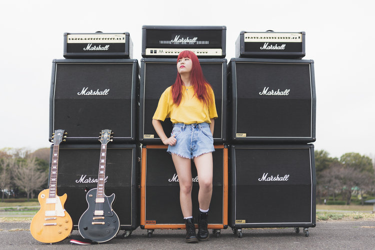 Arisa and Marshall Amps — GeoffreyGriggsPhotography