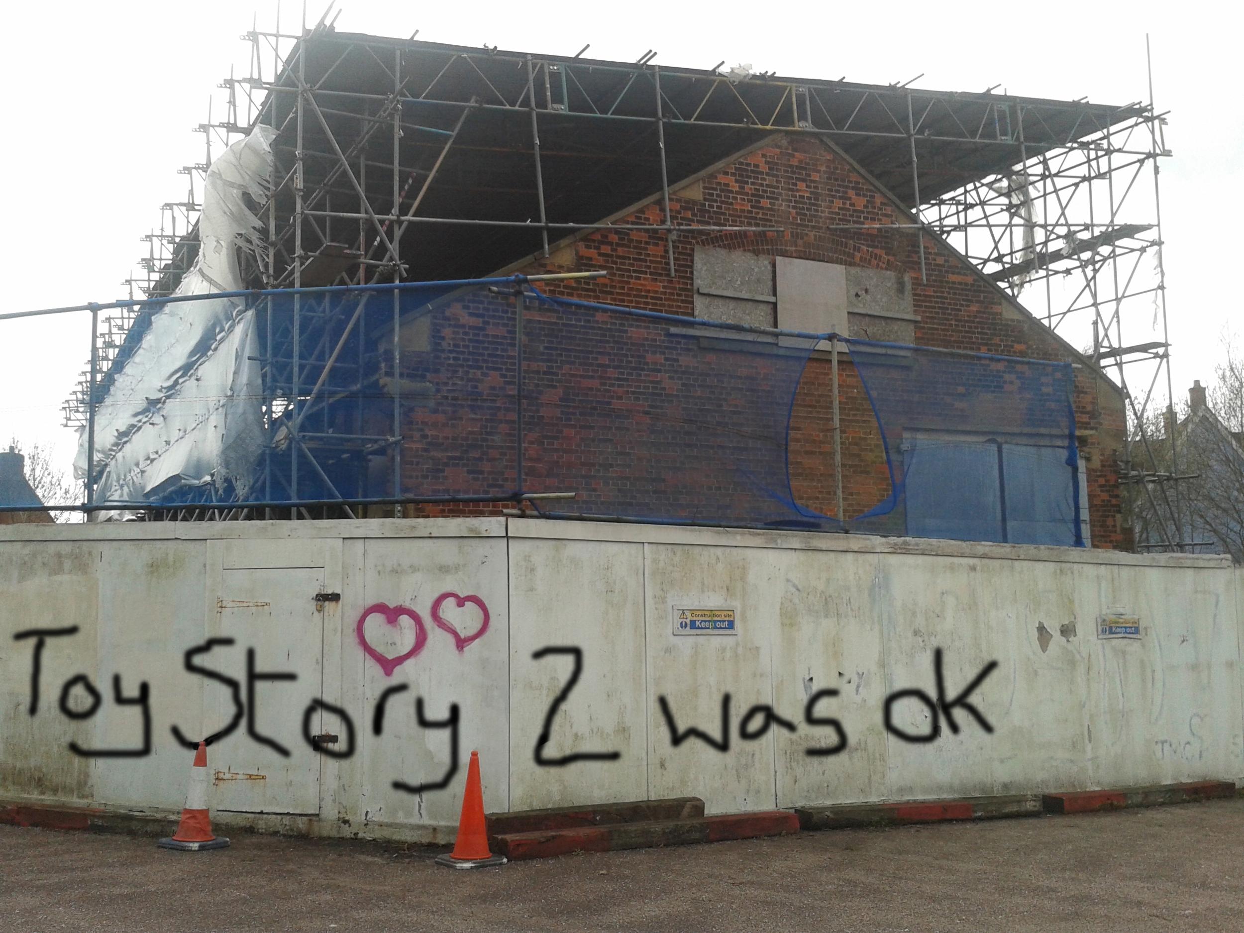 Bnaksy Toy Story