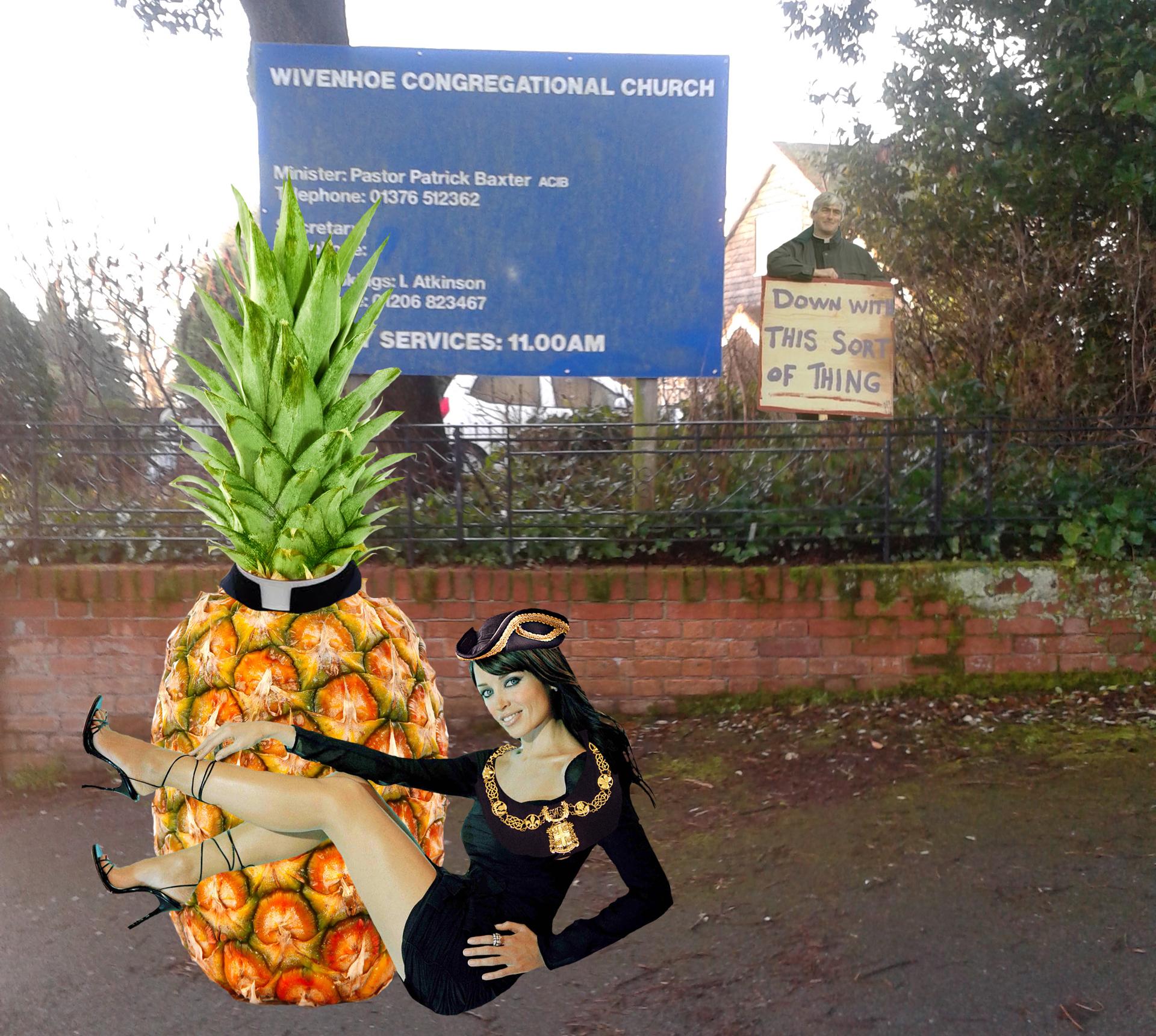 Pineapple vicar