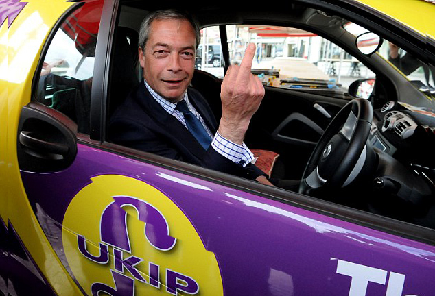 Farage job sawp