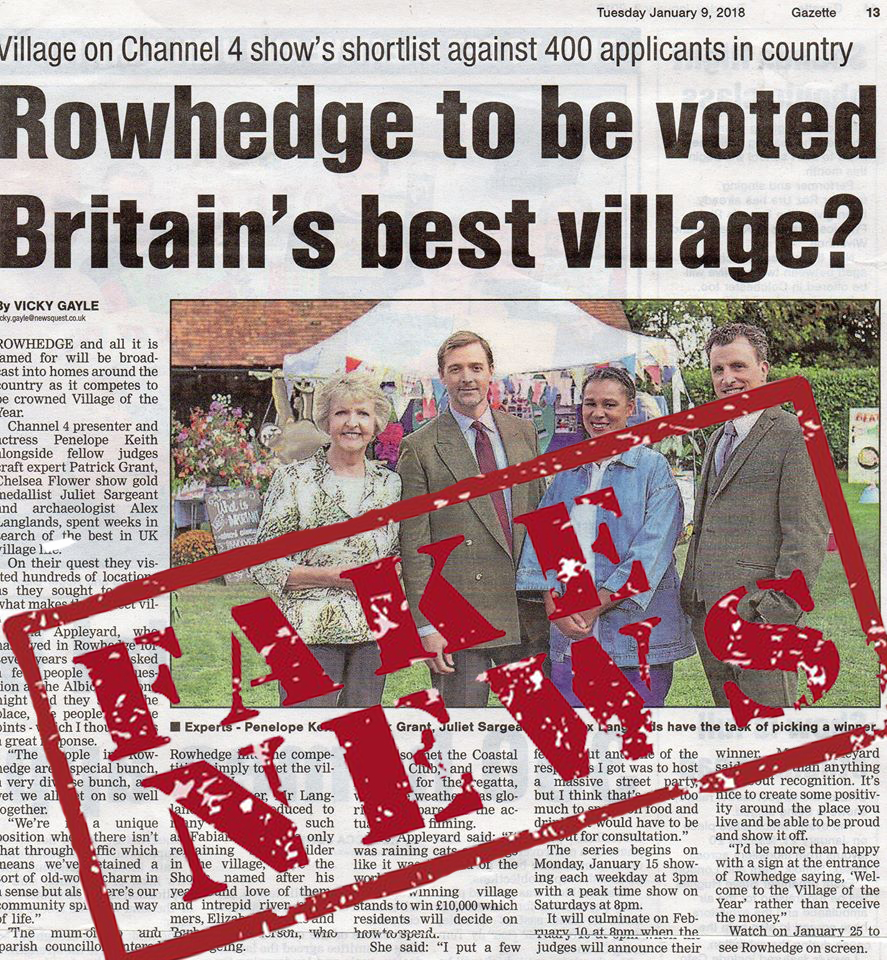 Rowhedge's lying liberal media confuses the truth with complete and utter bullspit