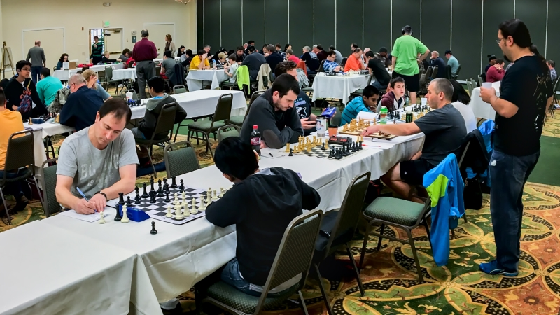 Players in the Master/Expert Section, 2016 CFCC Class Championship tournament