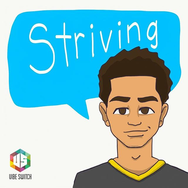 """I am striving for nothing less than success"" – Qadry  So, what's your story? What makes you, you? Submit today for a chance to be recognized and to earn a free sketch in the process!"