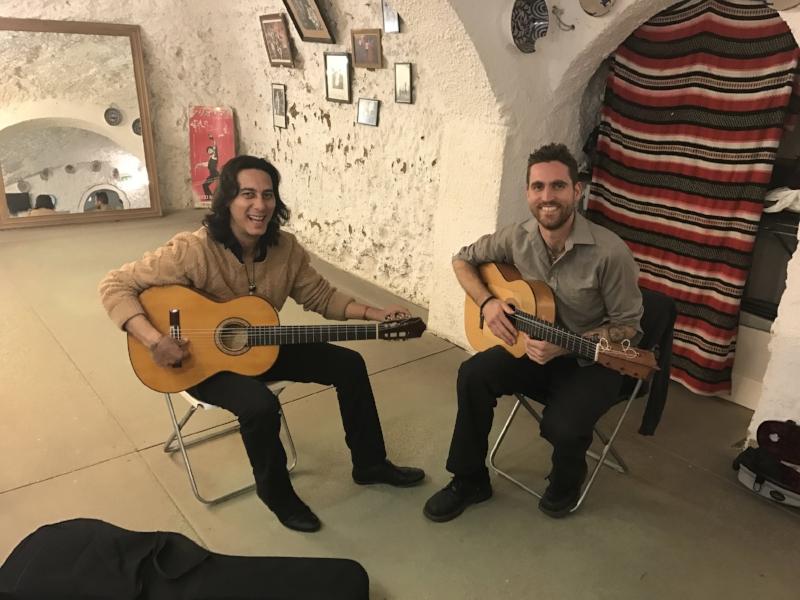 Guitar Class with Manuel de Granada - Granada Spain