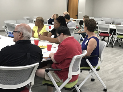 11/02/17 FAMILIES IN NORTH DALLAS DISCUSSING HOUSING FOR PEOPLE WITH DISABILITIES AT NORTH TEXAS REGIONAL ASSESSMENT FOCUS GROUP