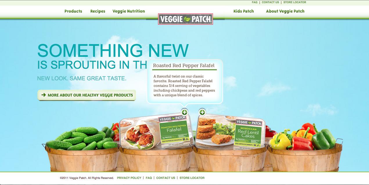 Veggie Patch- Website Reskin