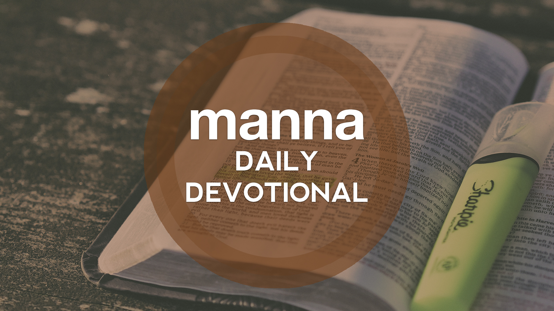 Manna Daily Devotional