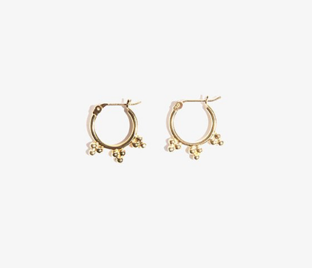HOPE AND MAY RAJ EARRINGS $69.95