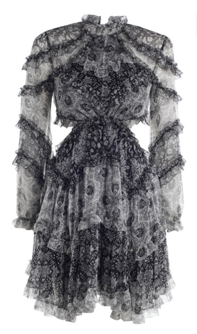 ZIMMERMANN DIVINITY RUFFLE DRESS $995