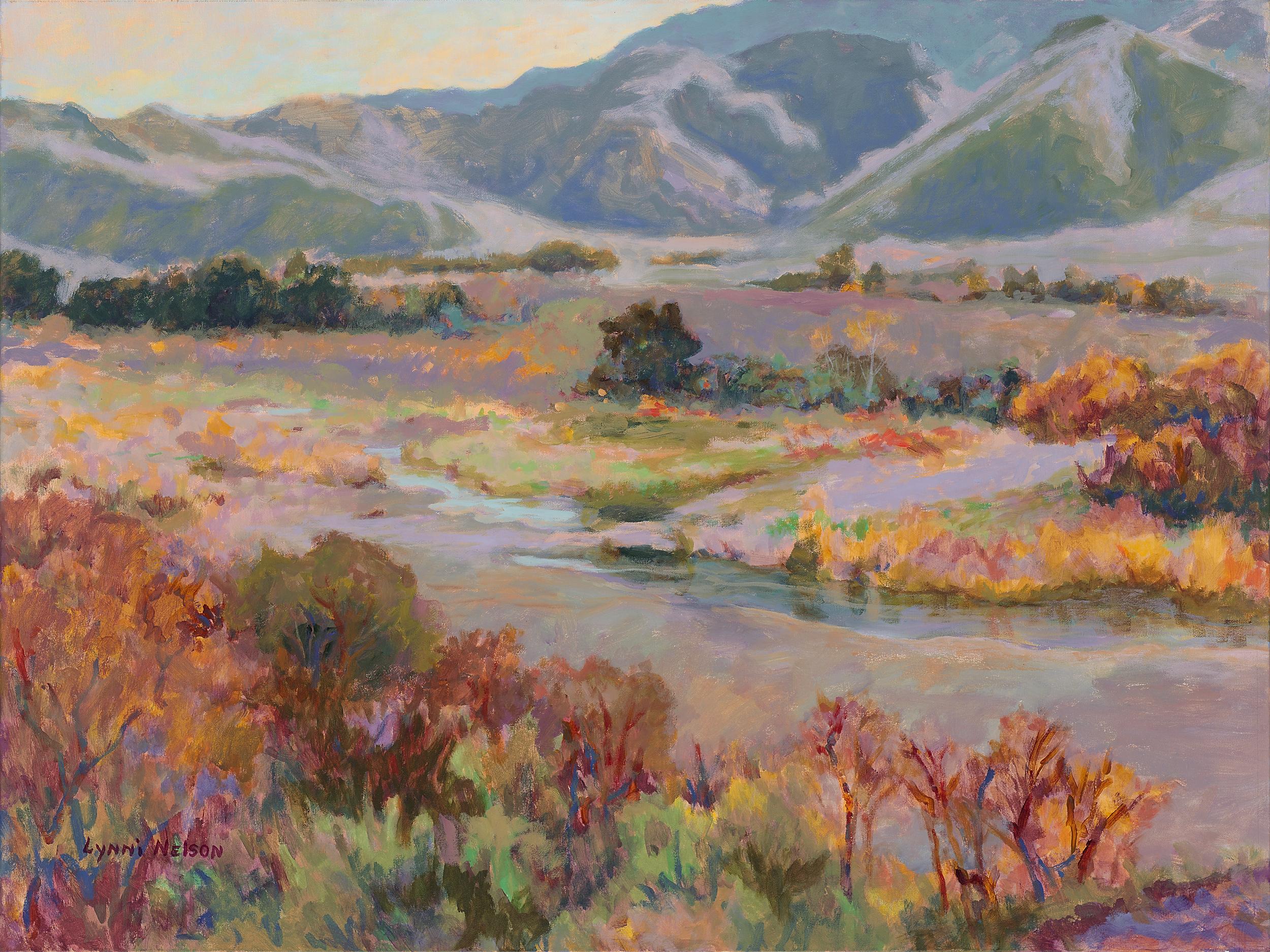 August Morning High Desert