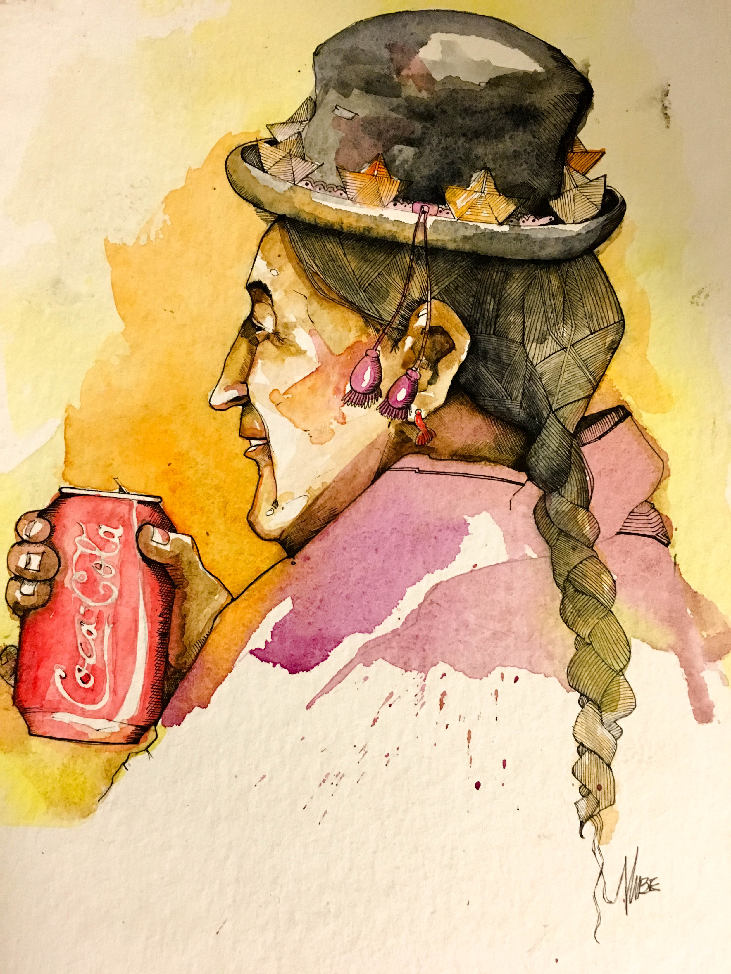 Painting by Nube Alfaro Dela Cruz