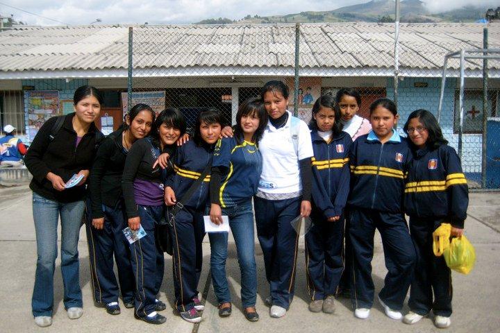 School girls of Pasos. pc Sophie Dilas