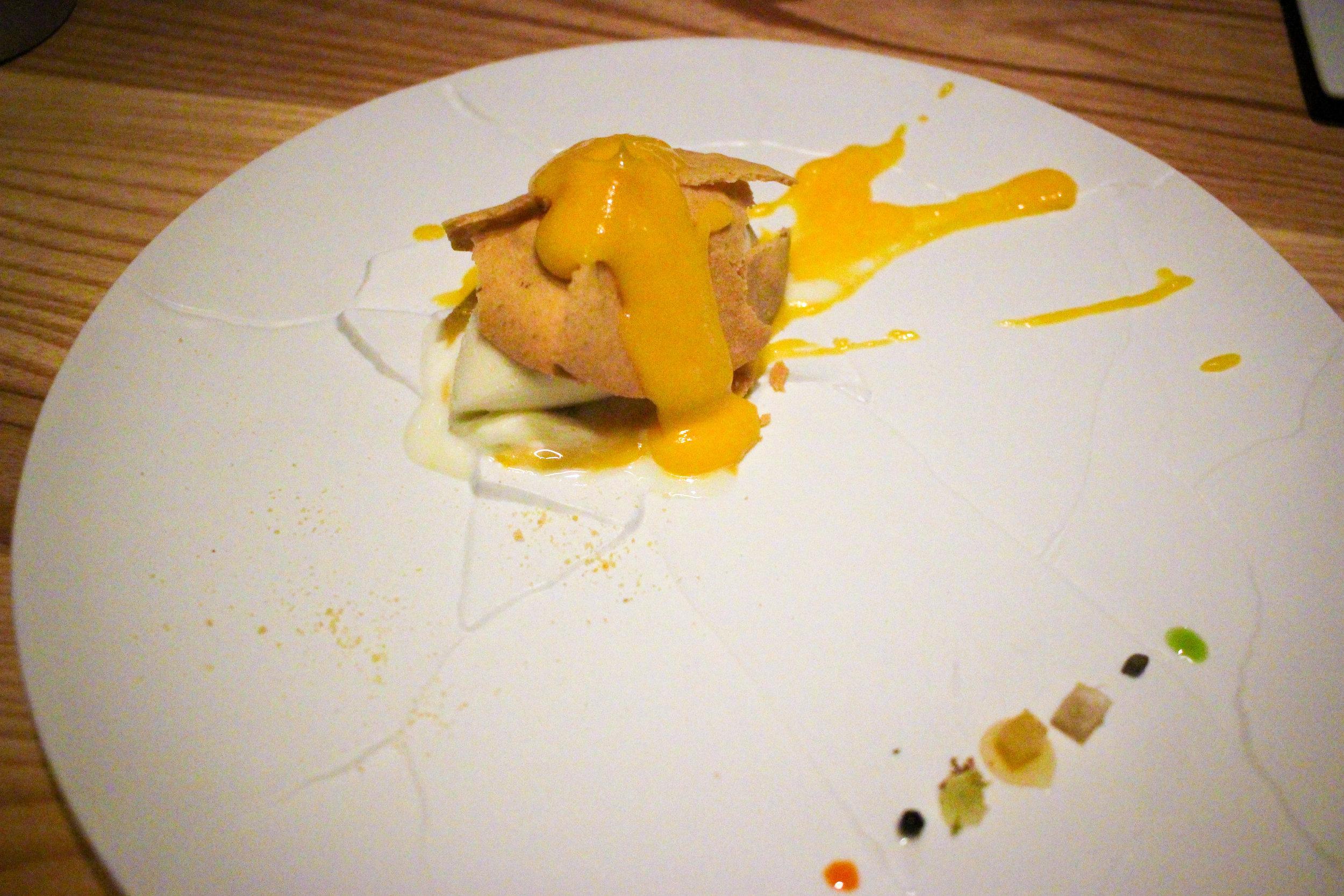Oops! I Dropped the Lemon Tart.  Created by Massimo Bottura @ Osteria Francescana, Modena, Italy, 2012