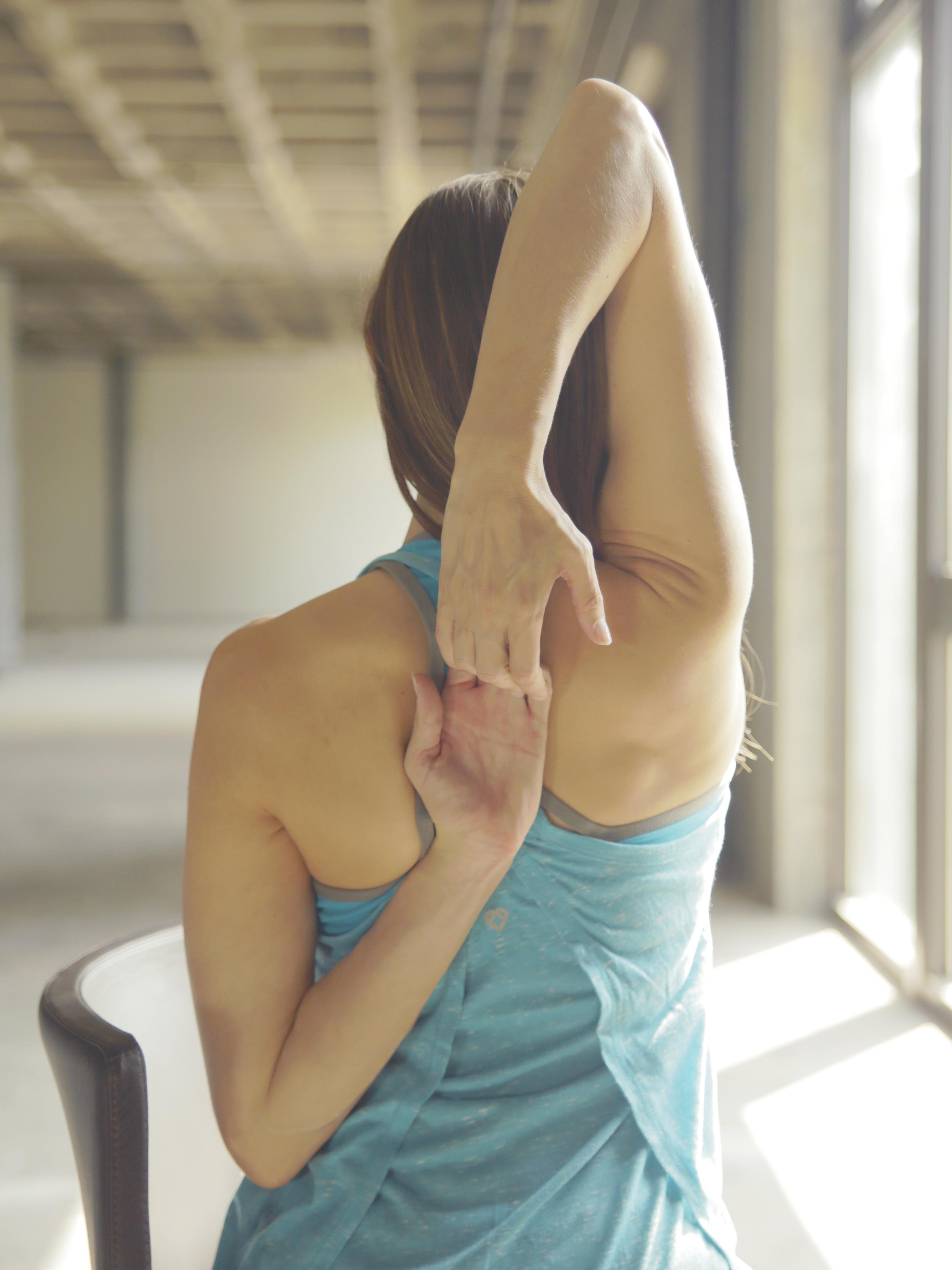 Gomukhasana Arms/ Tricep Shoulder Stretch