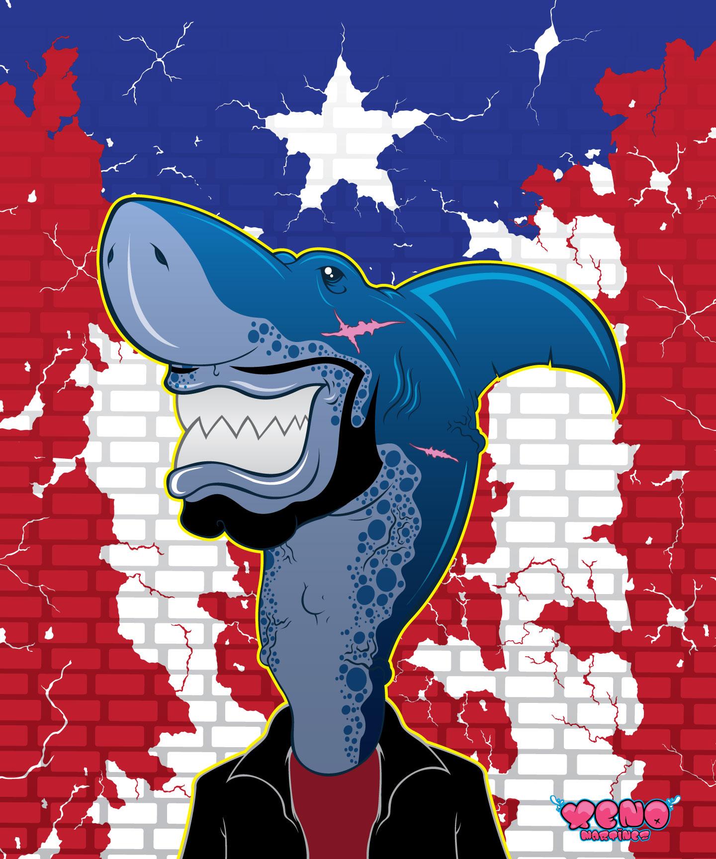 Boricua Shark