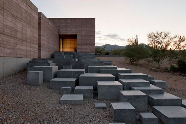 Starting a new series paying tribute to inspiring efforts by friends & collaborators. Next up - and in no particular order - talented friends Cade Hayes and Jesús Robles with their Tucson-based design/build studio DUST @dust_architects .  A strong philosophy 'rooted in master-builder tradition' shows throughout all of their work.  A personal favorite, the rammed-earth Tucson Mountain Retreat residence in the Sonoran Desert is a creative testament to their mastery of space, materiality, and craft. 🔥📷 Jeff Goldberg ... . . #designingcommunity #designbuild #design #desertmodern #inspiringdesign #buildingtheworldoftomorrow #masterbuilder #rammedearth #modernarchitecture