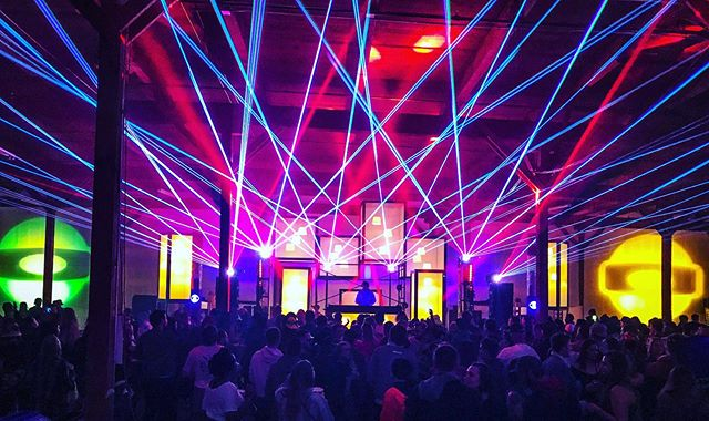 Blast off night one. Our Luminaria Stage at @farout.factory. Special thanks to @openvape @twopartsco and @themastershredder for bringing the laser magic 🔥. #hunterleggittstudio #faroutfactory #luminariastage ..... . . . . #immersivearchitecture #experientialdesign #experientialdesignfirm #architecture #designbuild #stagedesign #cool #losangeles #design #denver #aspen #modernindenver #cooldesign #vintagelantern