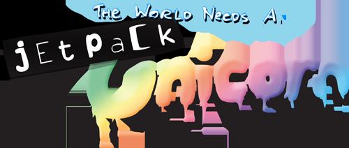 Wyrd - The World Needs a Jetpack Unicorn