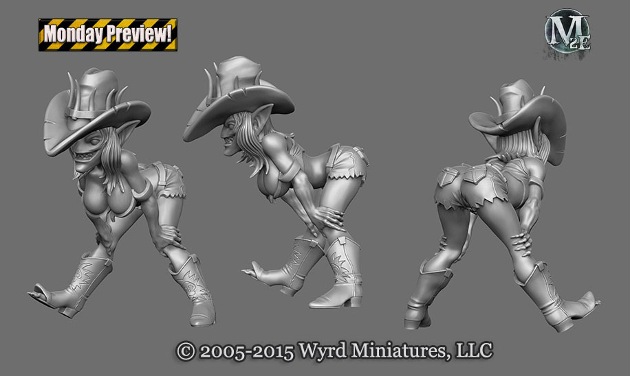 Preview - Mah Tucket, Little Lass, Trixiebelle — Wyrd Games