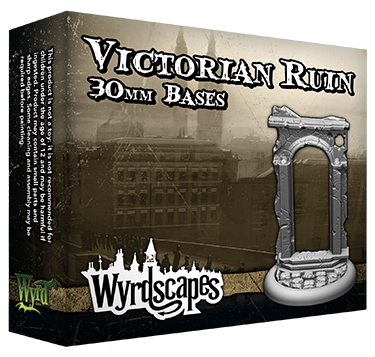 VICTORIAN RUINS - 30mm, 40mm, and 50mm Bases Available