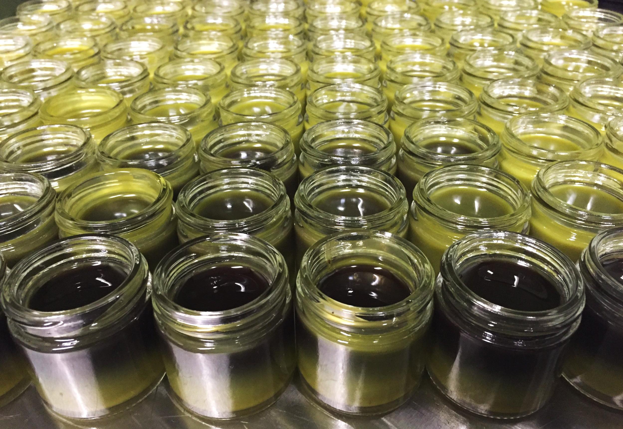 Hemp salve production by Evolved Alchemy