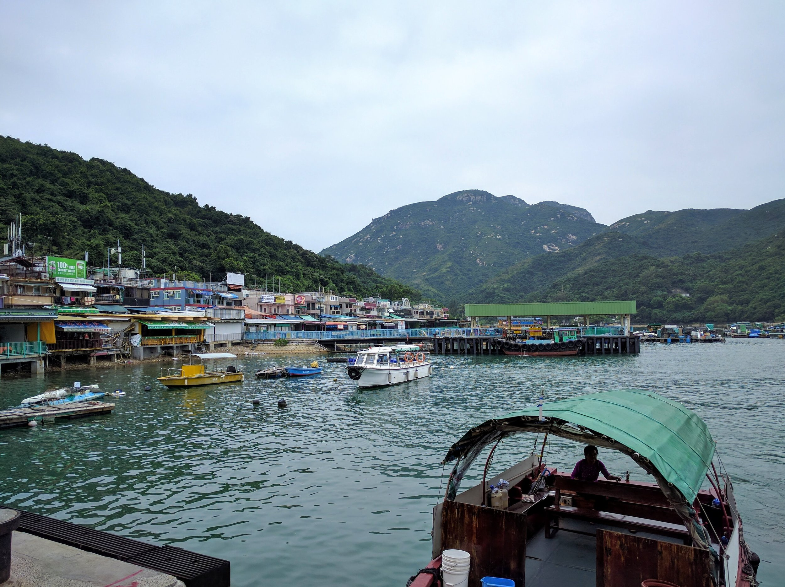 Couldn't resist another fishing village so visiting Lamma Island for the day // Hong Kong