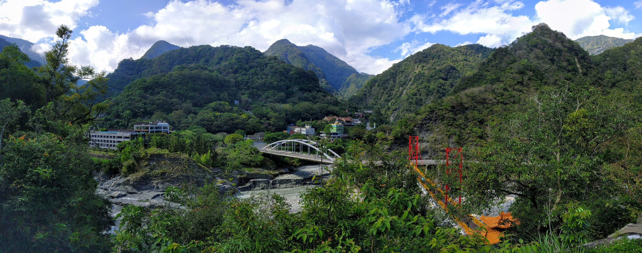 View inside Taroko National Park // Taiwan