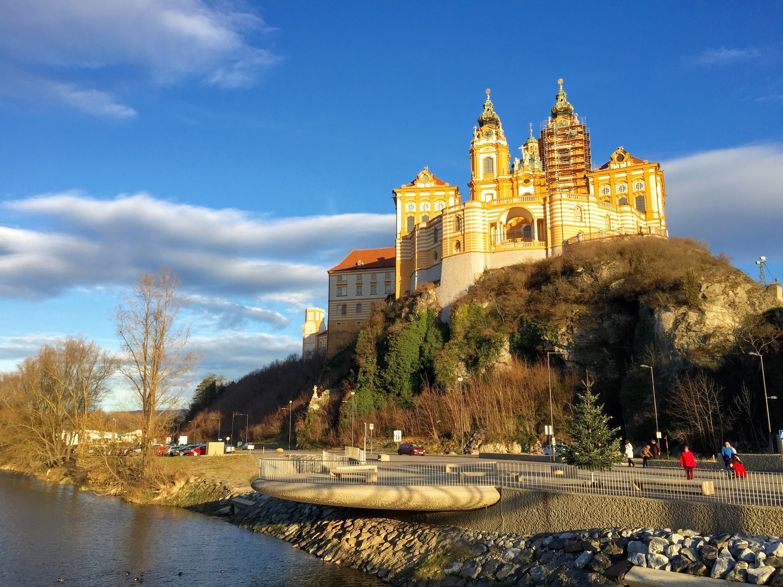 The stunning Melk Abbey // Melk, Austria