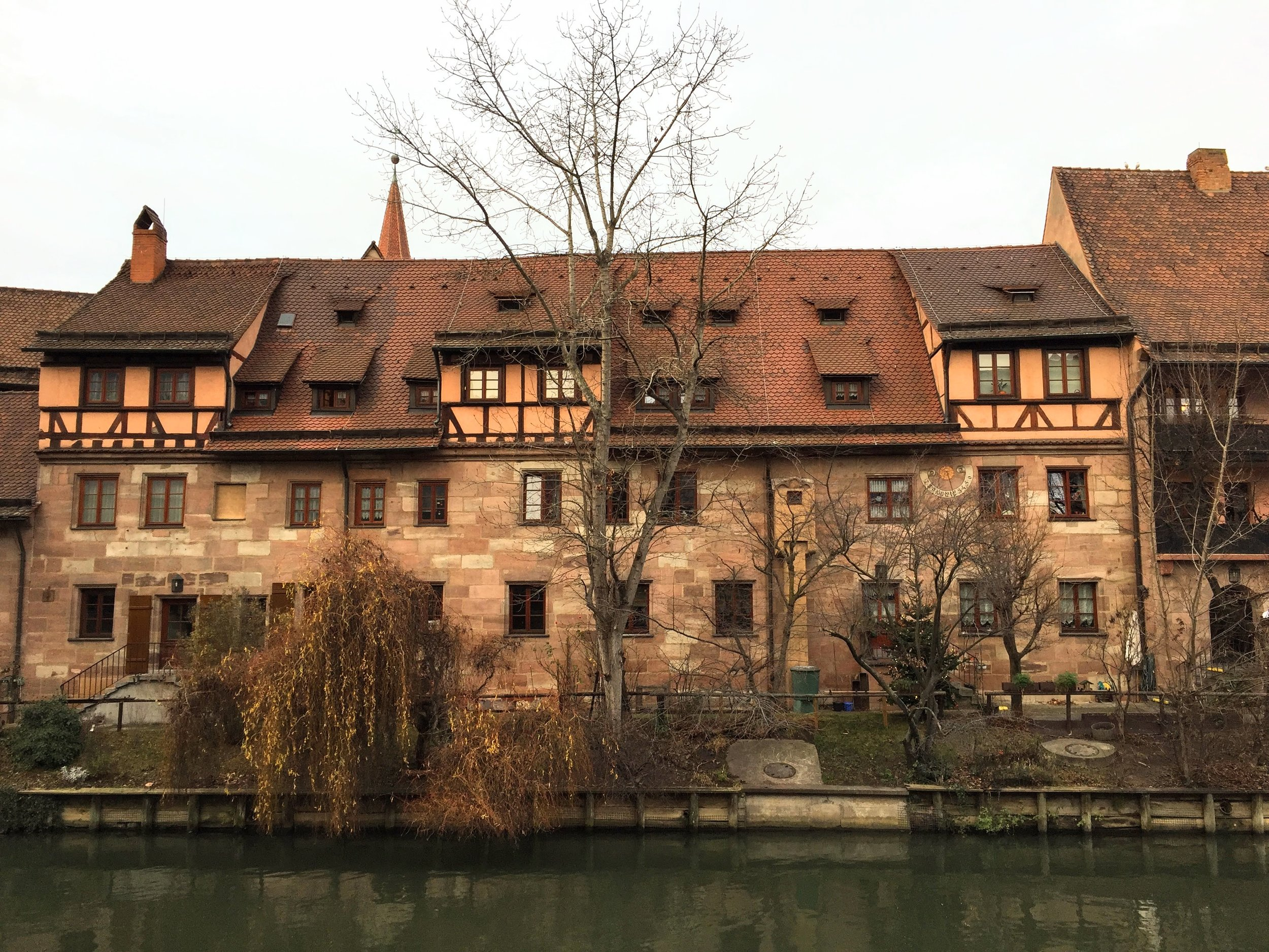 Enjoying the architecture in our last stop //Nuremburg, Germany