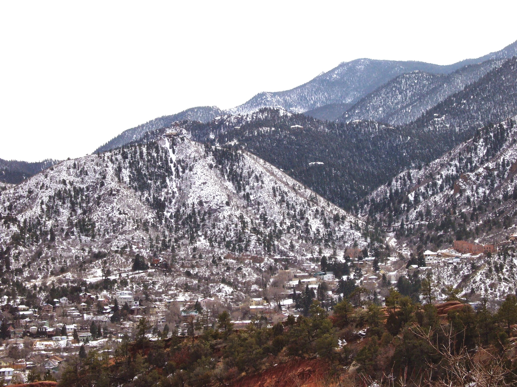 View of Colorado Springs