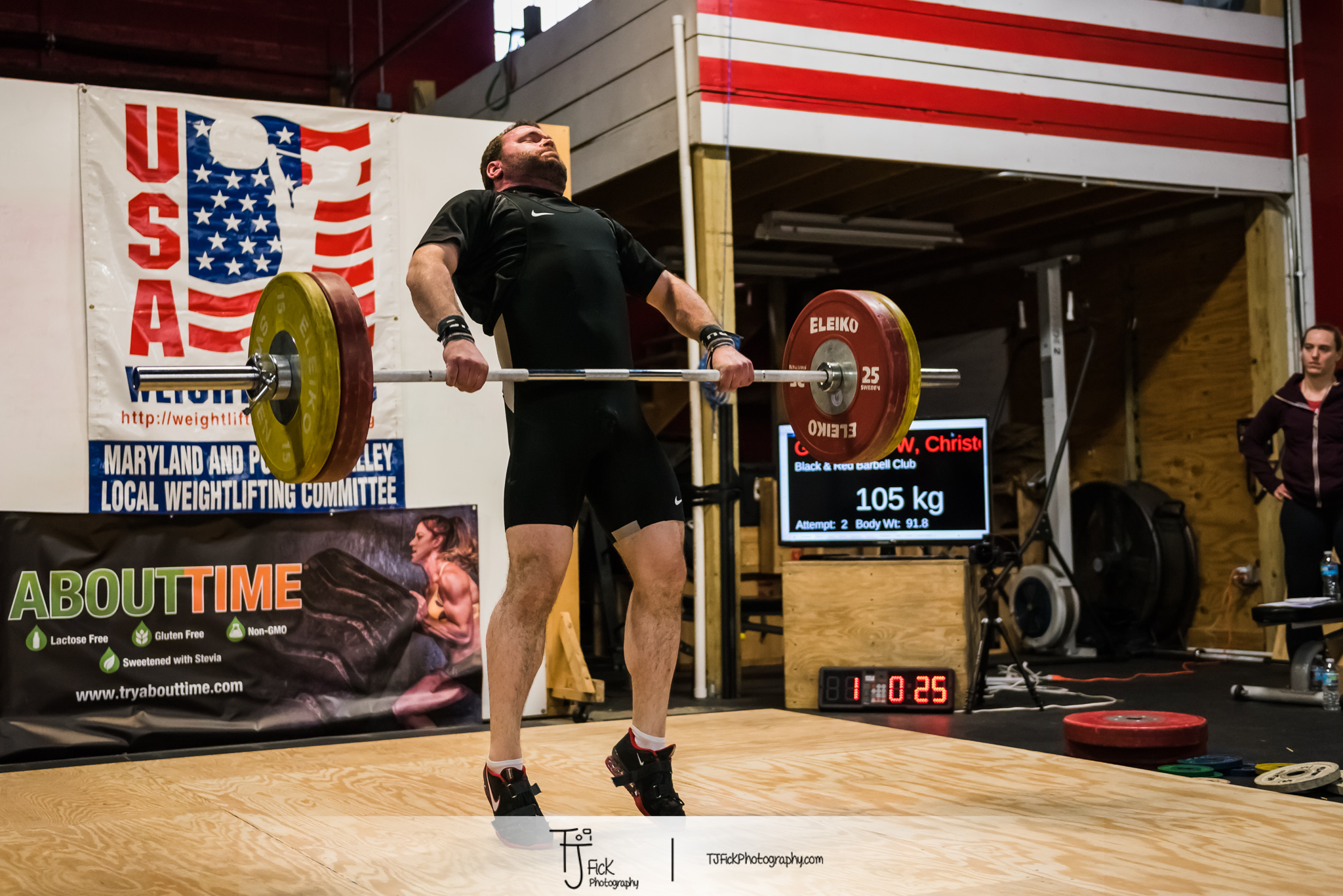Capital City Open 2015 put on by DC weightlifting club